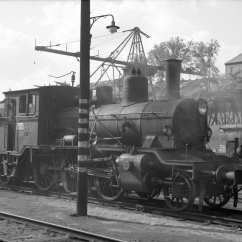 Class 21c No315 shunting in Lodalen yard, Oslo, in 1964 (Norsk Jernbanemuseum)