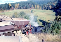 Class 21e No.207 derailed on the Numedal line on the 1st October 1963. (Norsk Jernbanemuseum)
