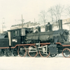 No.377 (21C) after overhaul but prior to shipping to the UK. This engine is now named 'King Hakon' and is now based at Bressingham. (Akershusbasen)