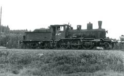 Class 21c No.372 at work on the Solor line between Kongsvinger and Elverum. (Akershusbasen)