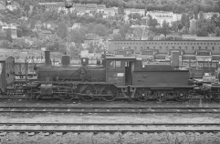 Withdrawn No.371 (21c) at Lodalen yard in 1964. (Akershusbasen)