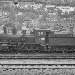 Withdrawn No.371 (21c) at Lodalen yard in 1964. (Akershusbasen)