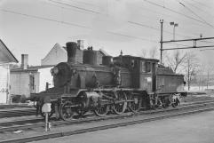 21c No.372 at Kongsvinger during 1966. (Akershusbasen)