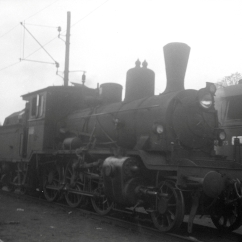 Type 21 in Oslo during 1956. (Norsk Jernbanemuseum)