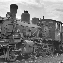 No.374 withdrawn from service in Lodalen yard, Oslo in 1963. (Akershusbasen)