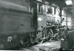 21c No.377 in Lodalen shed, Oslo. (Norsk Jernbanemuseum)