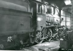 21c No.377 in Lodalen shed, Oslo. (Norsk Jernbanemuseum)