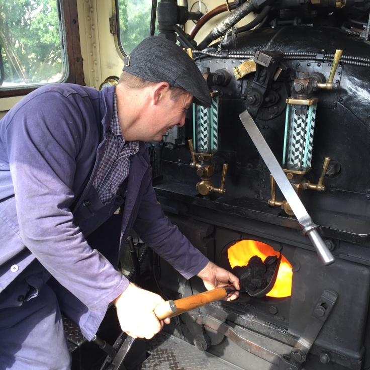 Fireman Williams builds the fire - Andy Hardy