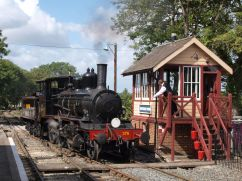 Exchanging the token at Tenterden - Phil Edwards
